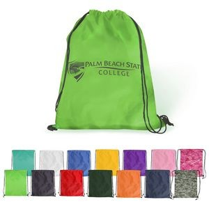 Drawstring Backpack - Polyester Drawstring Bags